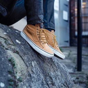 vans sk8 hi MTE honey leather mountain edition